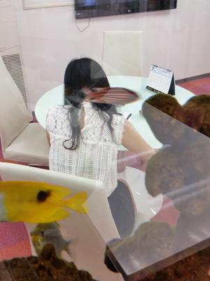 綾香さんのパネル写真